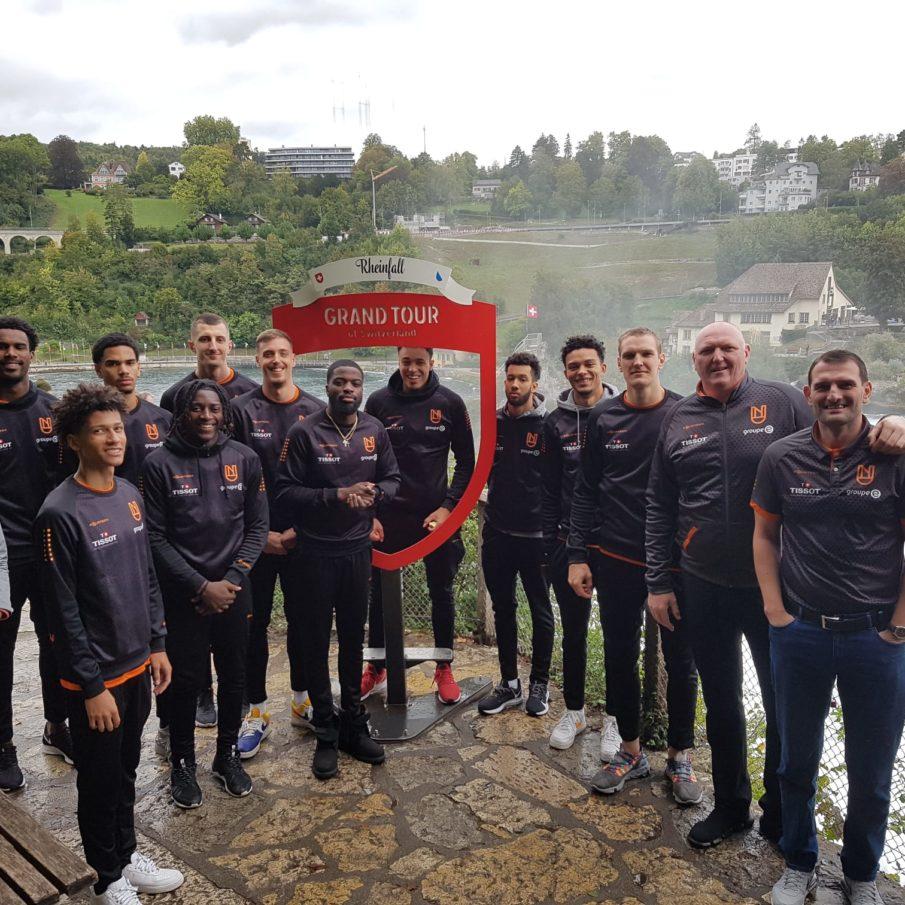 physiothérapeutes de l'équipe de basketball «Union Neuchâtel»